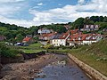 Sandsend beck and cottages - geograph.org.uk - 882177.jpg