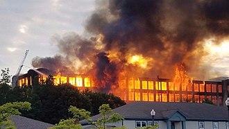 Sanford, Maine - 2017 mill fire
