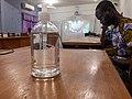 Sanitizer at WLA2020 Edit-a-thon in Benin.jpg