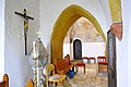 Sankt Georgen a L Lausdorf Pfarrkirche Mariae Himmelfahrt Suedkapelle Taufstein 12032013 192.jpg