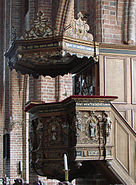 Sankt Mariae Helsingoer- Prædikestol