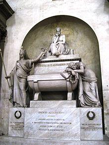 Kenotaph in der Basilika Santa Croce in Florenz (Quelle: Wikimedia)