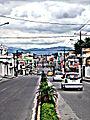 Santo Domingo, Ecuador. Avenida.JPG