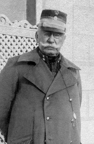 Konstantinos Sapountzakis - Lt Gen Sapountzakis during the First Balkan War at Filippiada, in 1913