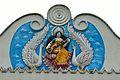 Saraswati - East Railing Mural - Ramakrishna Mandir - Jadu Nath Hati Smasana Complex - Sankrail - Howrah - 2013-08-11 1434.JPG