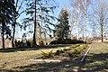 Sarkanās armijas brāļu kapi (166 karavīri) WWII, Salaspils, Salaspils pagasts, Salaspils novads, Latvia - panoramio.jpg