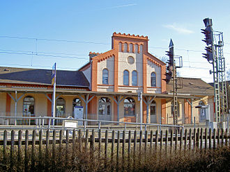 Hanoverian Southern Railway - Sarstedt station
