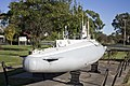 Scale model of the B11 submarine in Commander Holbrook Memorial Park in Holbrook (2).jpg