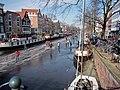 Schaatsen op de Prinsengracht in Amsterdam foto16.jpg