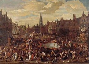 Procession on the Meir