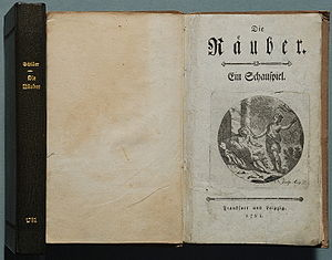 The Robbers - First edition, 1781