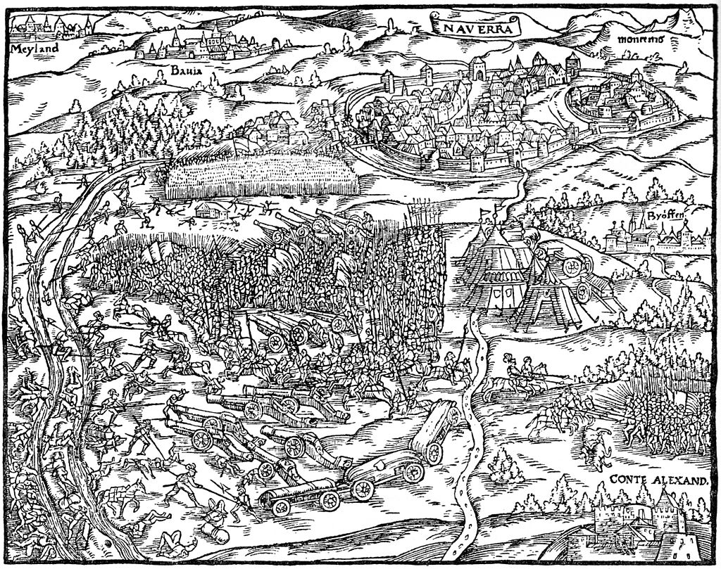 Illustration aus der Chronik des Johannes Stumpf, 1548