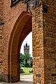 Schlosspark Babelsberg - Gerichtslaube - Blick zum Flatowturm - DSC4244.jpg