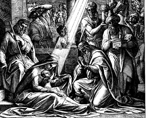 Schnorr von Carolsfeld Bibel in Bildern 1860 169