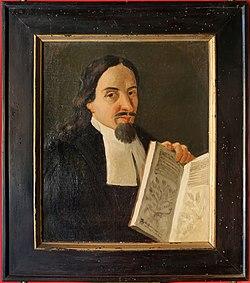 Scuola toscana, ritratto di luca ghini, xix secolo.jpg