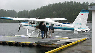 "Ganges Water Aerodrome - Seair Seaplanes, DHC-2T ""Turbo Beaver"""