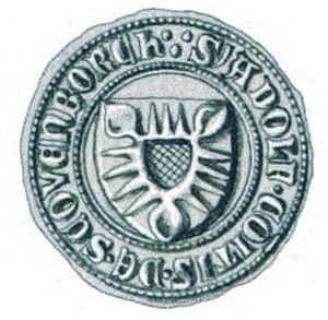 Heilwig of Lippe - Image: Seal Adolf VIII. 01