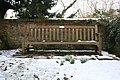 Seat by the lych gate - geograph.org.uk - 1156981.jpg