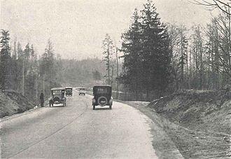 Washington State Route 522 - Image: Seattle Victory Way (later Lake City Way), 1923