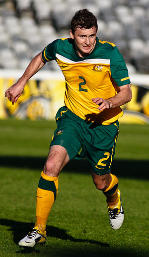 Sebastian Ryall - Ryall playing for the Olyroos in 2011