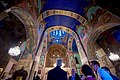 Secretary Kerry Looks at the Ceiling of the Sioni Church in the Historic District of Tbilisi (28054872291).jpg