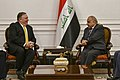 Secretary Pompeo Meets with Iraqi Prime Minister Adil Abd Mahdi (39711700873).jpg