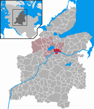 Sehestedt - Image: Sehestedt in RD