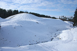 Voruta - Šeiminyškėliai Hillfort in the south of Lithuania, one of the presumed sites of Voruta