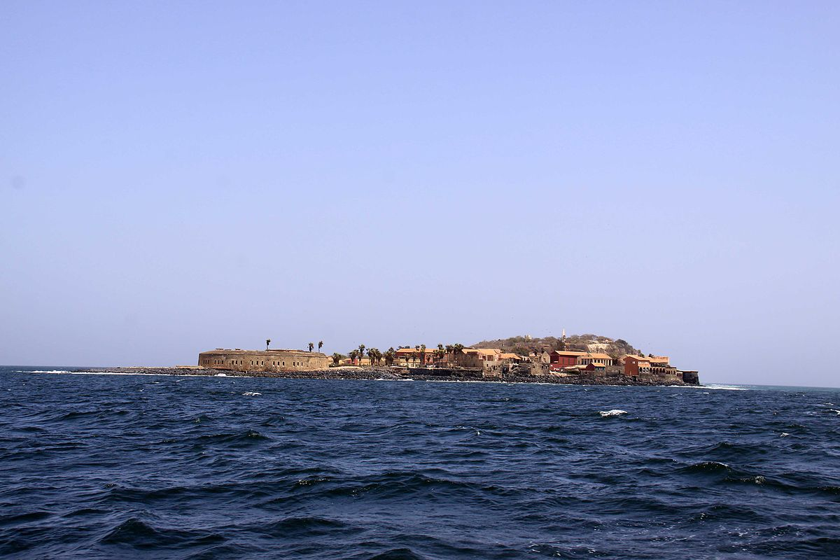 View of the island