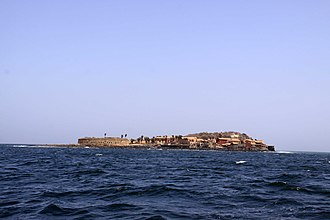 Gorée - View of the island