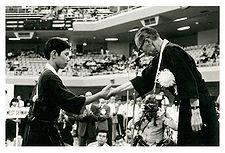 Jorge Kishikawa conquista a primeira medalha (3º lugar) do Brasil nas  competições individuais no II Torneio Mundial Juvenil, em Tóquio, 1977