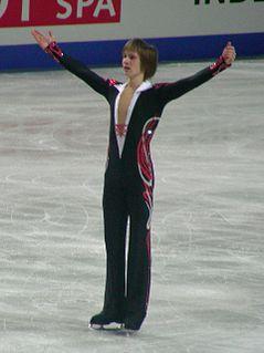 Sergei Dobrin Russian former competitive figure skater