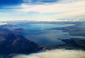 Lake Sevan - Aerial view of the lake