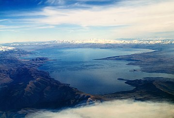 Lake Sevan is the largest body of water in Armenia and the Caucasus region. It is one of the largest freshwater high-altitude (alpine) lakes in Eurasia Sevan Armenia Sevan Armeniia.jpeg