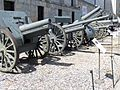 Several soviet canons, Polish Army open-air Museum, Warsaw.JPG