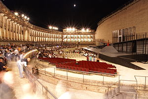 Macerata - Sferisterio open-air theatre.