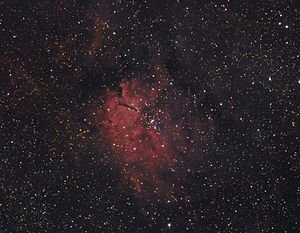 NGC 6820 and NGC 6823 - Image: Sh 2 86RGBHa RGB Hunter