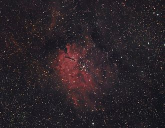 NGC 6820 and NGC 6823 - Image: Sh 2 86RGBHa RGB Hunter