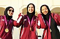 Shaikha Khalaf Al Mohammed, Mehbubeh Akhlaghi, Bahya Al-Hamad 2011 (cropped).jpg