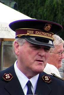 Shaw Clifton General of The Salvation Army