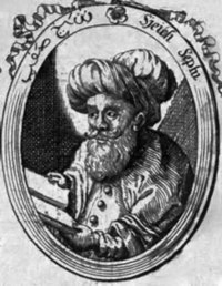 Safi ad-din, founder of the Safavid order