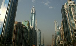 Sheikh Zayed Road on 16 June 2007 Pict 2.jpg