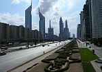 Sheikh Zayed Road on 28 December 2007.jpg