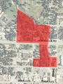 Shiloh Historic District map.png