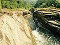 Shimankeng River flowing through Wannian Canyon.jpg