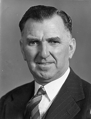 Sidney Holland - Sidney George Holland in 1953