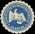 Siegelmarke Öffentliche Wetterdienststelle Hamburg W0333397.jpg