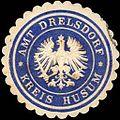 Siegelmarke Amt Drelsdorf - Kreis Husum W0220725.jpg