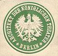 Siegelmarke Architekt der Königlichen Theater - Berlin W0221881.jpg