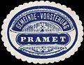 Siegelmarke Gemeinde-Vorstehung Pramet W0338153.jpg